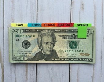 Cash Clips | Money Clips | Inspired by Dave Ramsey Baby Steps