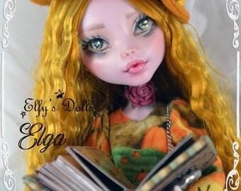 "OOAK Monster High ""Elga"" / custom doll collection"