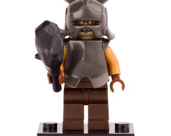 Orc du Mordor figurine personnalisé 100 % Compatible Lego! Seigneur des anneaux