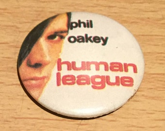 Vintage Human League Badge