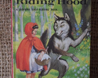 Little Red Riding Hood. A Vintage Ladybird Book. Well Loved Tales. Series 606D