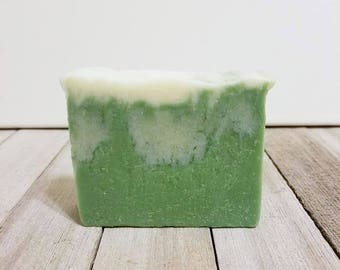 Lime Soap, Lime, Coconut Lime, Coconut Soap, Tropical Soap, Palm Free Soap, Cold Process Soap, Handcrafted Soap, Artisan Soap, Handmade Soap