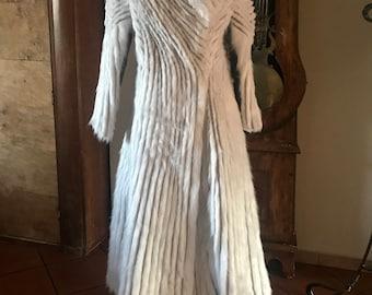 Game of Thrones Daenerys Targaryen season 7 Halloween cosplay costume replica fur coat