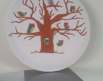 "fingerprint tree ""chouette alors!"" to 60 to 80 people"