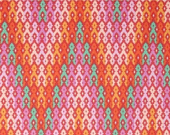 Tula Pink Chipper The Wanderer Sorbet; 1/2 yard woven cotton fabric
