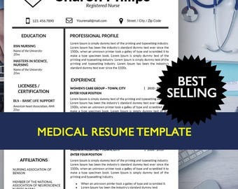 nurse resume template resume template nurse medical resume nursing resume template cover - Doctor Resume Template