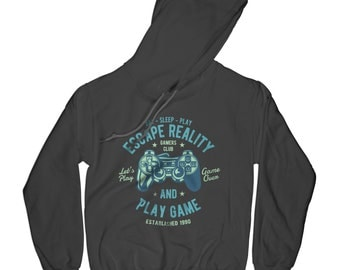 Play hoodie eat sleep hoodie gamer hoodie hipster hoodie funny hoodie quote hoodie video game hoodie gamer hoodie   APV58