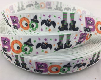 """Halloween Grosgrain Ribbons,Halloween ribbons. Available in 5/8"""", 7/8"""" or 1.5"""""""