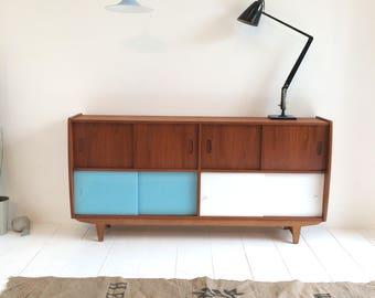 Eames Era Sideboard - 1960s Danish Influence Retro