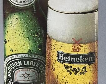 "1981 Heineken Beer Print Ad - ""Come to think of it, I'll have a Heineken"""