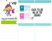 Bible Study Planner Stickers | Word Art Planner Stickers | Lettering Planner Stickers | Church Planner Stickers | Fits Most Planners | 372