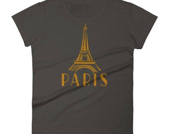 Paris Eiffel Tower Shirt This Paris Lover Tee Makes a Great Christmas Gift For Any Traveler That Loves The Capital Of France