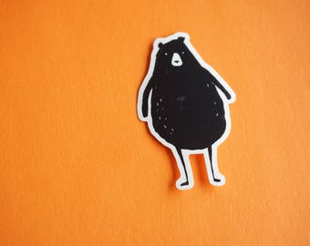 Chubby Bear Sticker