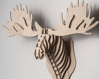 Elk head - Digital files