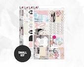 Relax Small Kit - Matte Glossy Erin Condren Planner Stickers