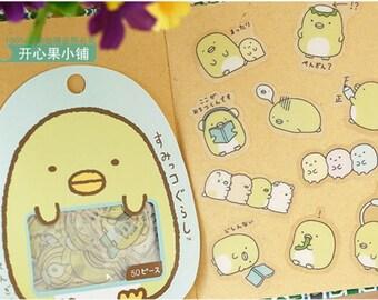 San-X Sumikko Gurashi Stickers / San-X Sticker Flakes / Kawaii Stickers / Cute Stickers / Japanese Stickers / Kawaii Pengin Penguin Stickers