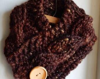 Children's Cowl Knit Scarf