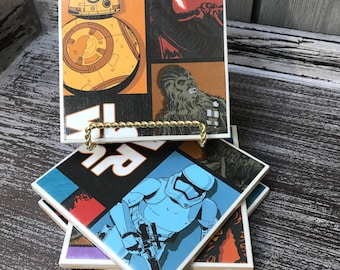 Star Wars coasters- set of 4 (handmade)