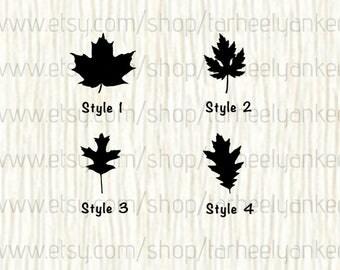 Leaf Car Decal, Leaf Decal, Fall Car Decal, Fall Decal, Autumn, Autumn Car Decal, Fall Foliage, Halloween, Car D