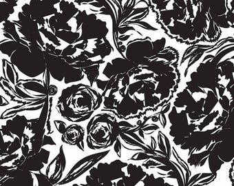 Modern Eclectic - Arianna Black - by Khristian Howell - Blend Fabrics - 100% Premium Cotton Fabric