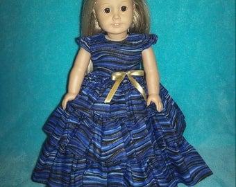18 inch doll dress,American Girl dress,American Girl doll clothes,18 inch doll clothes,doll clothes,AG doll cloth,18 inch ruffled doll dress