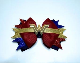 Wonder Woman Movie - DC Comics Hair Bow