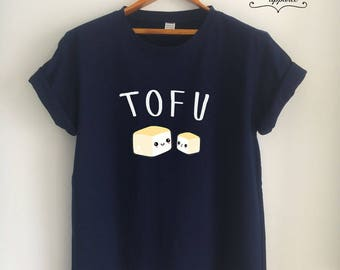 Vegan Shirt Vegan T Shirt Tofu Shirt Tofu T Shirt Vegan Merch Women Girls Men Tumblr Vegetarian Top Tee White/Grey/Black/Burgundy/Navy