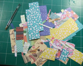 Kit scrapbooking papers small sizes