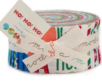 Ho Ho Ho - Jelly Roll - Christmas - Quilt fabric - MODA - by Deb Strain