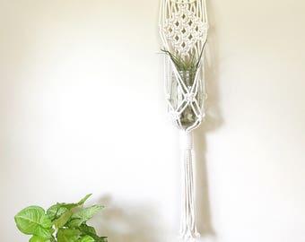 Plant Hanger Macrame, Housewarming Gift, Minimal Decor, Plant Lady, Modern Planter, Macrame Plant Hanging, Wall Hanging Planter, Boho Decor