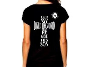 John 3: 16 cross  SVG, DFX Cut file   Easter svg, Christian svg, Jesus svg, t shirt svg, Scripture svg, Commercial use Cricut svg