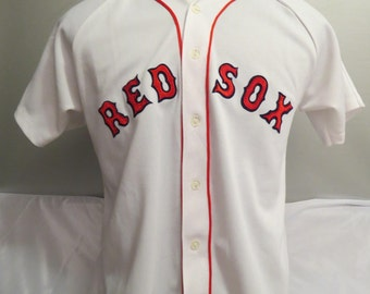 Boston Red Sox Jersey (VTG) - By CCM of Canada - Men's Large