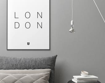 London, London Print | London Artwork | London Illustration | Architecture Print | City Print
