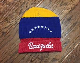 Venezuela National Flag Beanie