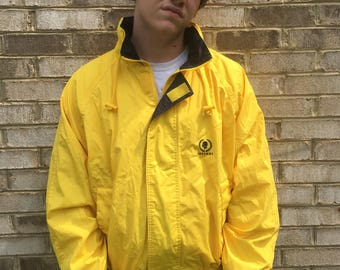 Large Yellow Caesars Jacket