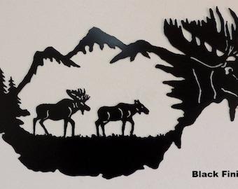 Moose Scene W23