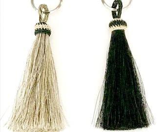 Horsehair Tassel Keychains