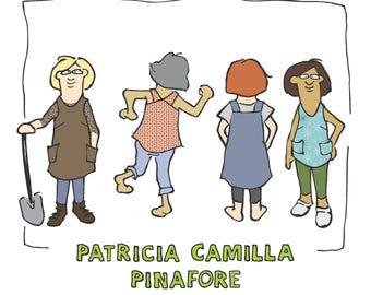 DIGITAL DOWNLOAD Patricia Camilla Pinafore Pattern