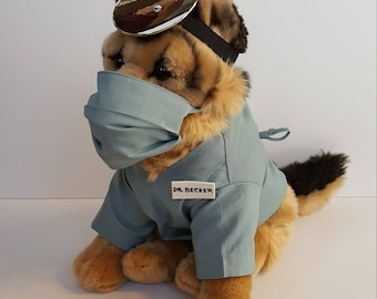 Surgeon Dog Costume, Pet Surgeon Halloween Costume, Puppy Surgeon Costume, Pet Surgeon Halloween Costume, Surgeon Pet Costume