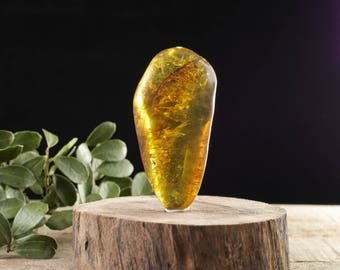 AMBER Freeform - Multicolor Mexican Amber, Natural Amber Stone, Freeform Stone, Red Amber, Yellow Amber 36767