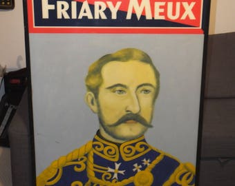 Double sided FRIARY MEUX, The Duke of Connaught WINDSOR, Pub Sign in very good condition.
