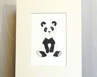 Baby Panda - Nursery - child's room decoration and illustration