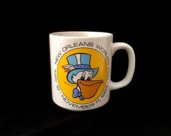 New Orleans Worlds Fair Mug 12 May 1984