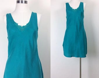 vintage silk slip women's size S/M