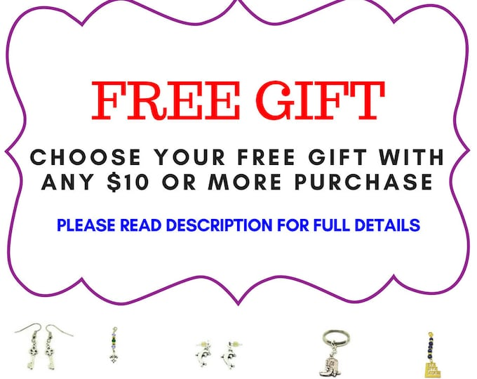 Free Gift with 10 or more purchase. Choose your Gift!