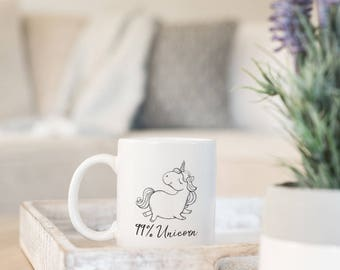 Cute Unicorn Mug - Funny Unicorn Mug - Unicorn Mugs - Cute Unicorn Gifts - Unique Unicorn Mug - Coffee Cup Unicorn - Unicorn Lover