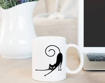 Kitty Cat Coffee Mug - Cute Cat Mug - Coffee Gift - Funny Mug Cat - Cat Lady Mug - Cat Lover Gift Mug - Cat Lady Coffee Mug - Funny Cat Mug