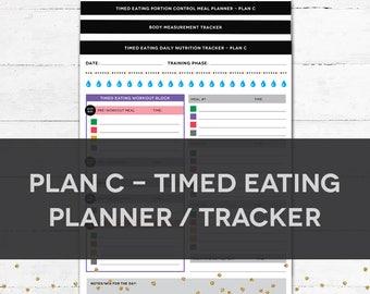 Timed Eating Planner & Tracker - PLAN C