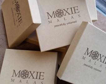 "100 Custom Branded 3.5 x 3.5"" Lasercut Boxes { Jewelry boxes, custom packaging, displays, custom boxes, branded, personalized box }"