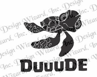 Squirt & Duuude Decal